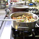 Cocina restaurante Casa Goás